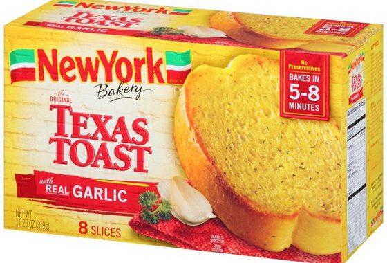 Save $1.00 off (1) New York Bakery Texas Toast Printable Coupon