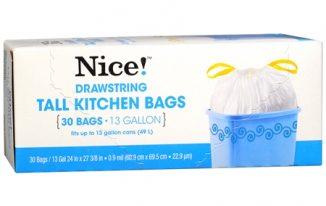 Save $1.00 off (1) Nice! Trash Bags Printable Coupon