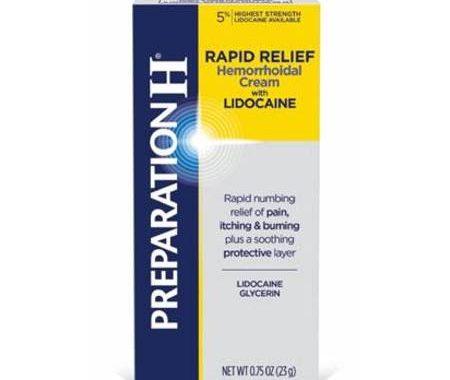 Save $4.00 off (1) Preparation H Rapid Relief Cream Coupon
