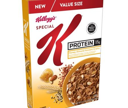 Save $0.50 off (1) Kellogg's Special K Protein Printable Coupon