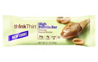 Save $1.00 off (2) ThinkThin High Protein Bar Printable Coupon