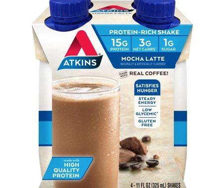 Save $1.50 off (1) Atkins Protein Shake Printable Coupon