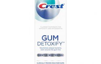 Save $2.00 off (1) Crest Gum Detoxify Printable Coupon