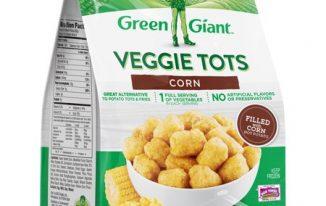 Save $1.00 off (1) Green Giant Veggie Tots Printable Coupon