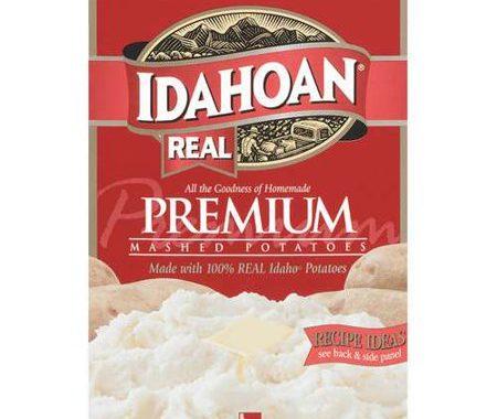 Save $1.00 off (1) Idahoan Real Premium Mashed Potatoes Coupon