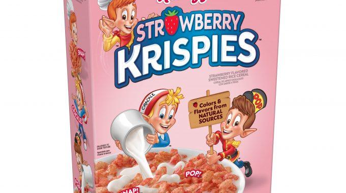Save $0.50 off (1) Kellogg's Strawberry Krispies Printable Coupon