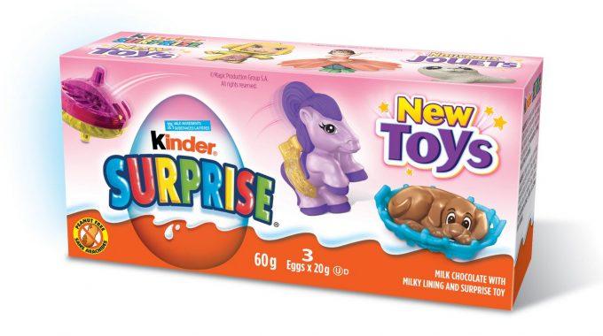 Save $1.00 off (1) Kinder Joy 3-Pack Printable Coupon