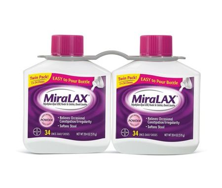 Save $6.00 off (1) Miralax Twin Pack Printable Coupon