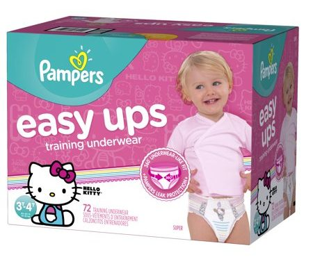Save $3.00 off (1) Pampers Training Underwear Printable Coupon