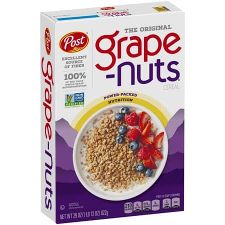 photograph regarding Post Cereal Coupons Printable identify Help save $1.00 off (2) Article Grape-Mad Cereal Printable Coupon