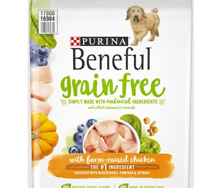 Save $3.00 off (1) Purina Beneful Grain Free Printable Coupon