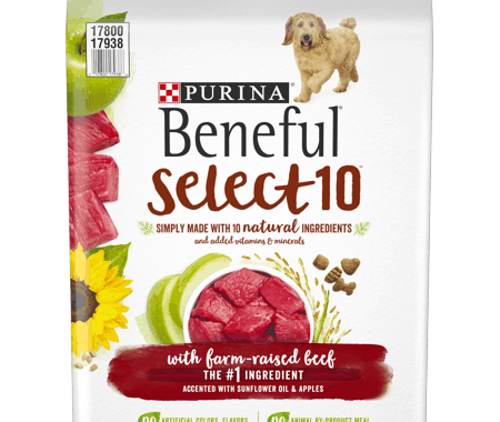 Save $3.00 off (1) Purina Beneful Select 10 Dog Food Printable Coupon