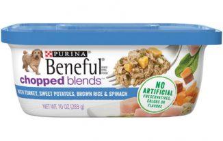 Save $1.00 off (2) Purina Beneful Wet Dog Food Coupon