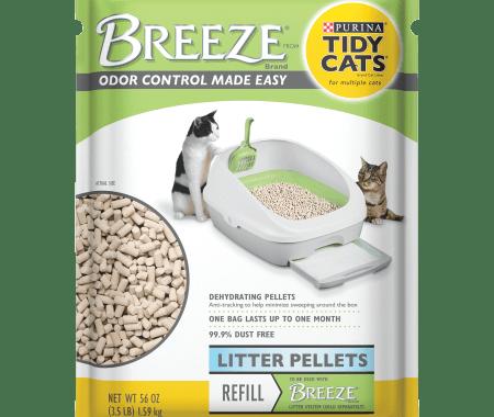 Save $1.00 off (1) Purina Tidy Cats Breeze Printable Coupon