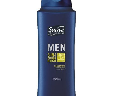 Save $0.50 off (1) Suave Men Shampoo Printable Coupon