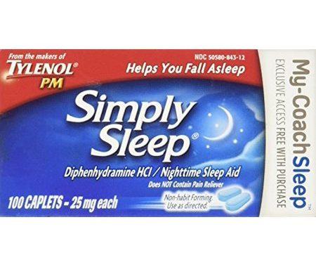 Save $2.00 off (1) Tylenol PM Simply Sleep Printable Coupon