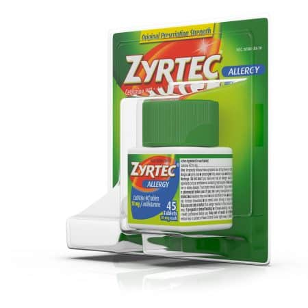 image about Zyrtec Coupon Printable named Conserve $4.00 off (1) Grownup Zyrtec 24-45CT Printable Coupon