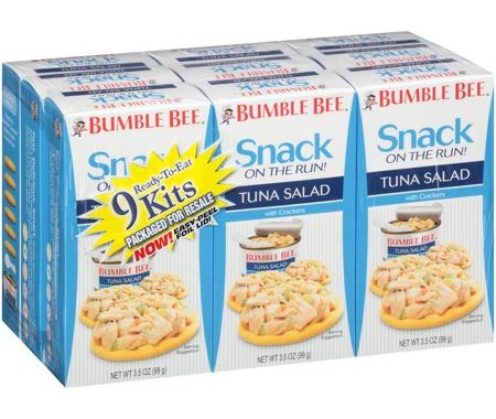 Save $1.00 off (1) Bumble Bee Tuna Salad Kit Printable Coupon