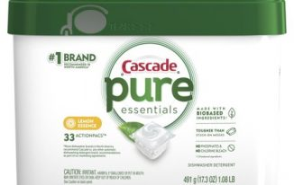 Save $1.00 off (1) Cascade Pure Essentials Printable Coupon