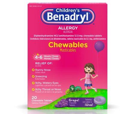 Save $1.00 off (1) Children's Benadryl Printable Coupon