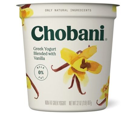 Save $1.00 off (1) Chobani Plain or Vanilla Printable Coupon