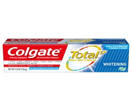 Save $5.00 off (3) Colgate Total SF Printable Coupon