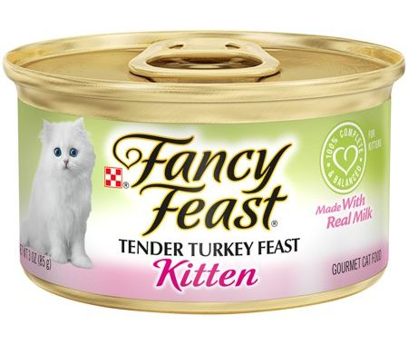 Save $1.00 off (12) Fancy Feast Wet Kitten Food Printable Coupon