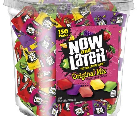Save $1.00 off (1) Now & Later Fruit Candy Printable Coupon