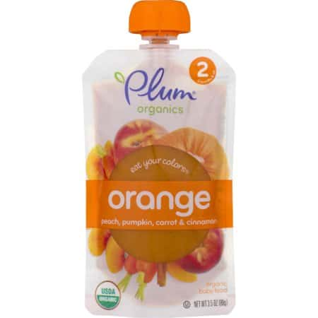 picture about Plum Organics Printable Coupon identified as Conserve $1.00 off (2) Plum Organics Take in Your Hues Printable