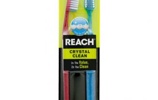 Save $2.00 off (2) Reach Crystal Clean Toothbrush Printable Coupon