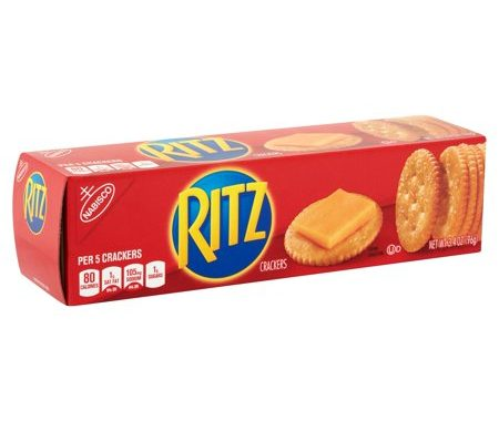 Save $0.75 off any (1) Ritz Crackers Printable Coupon