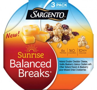 Save $0.75 off (1) Sargento Sunrise Balanced Breaks Printable Coupon