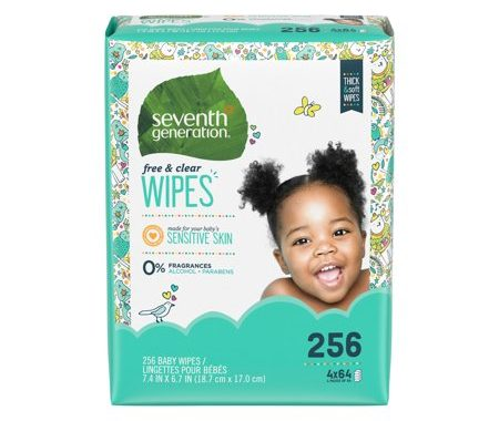 Save $2.00 off (1) Seventh Generation Baby Wipes Printable Coupon