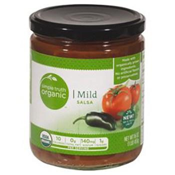 Save $1.99 off (1) Simple Truth Organic Salsa Printable Coupon