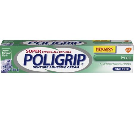 Save $1.25 off (1) Super Poligrip Printable Coupon