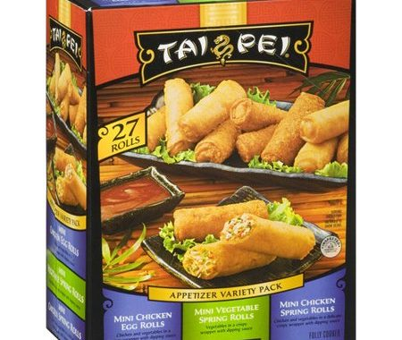 Save $1.00 off (2) Tai Pei Appetizer Printable Coupon