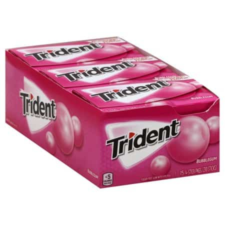 graphic regarding Trident Coupons Printable called Conserve $1.00 off any (1) Trident Gum Printable Coupon