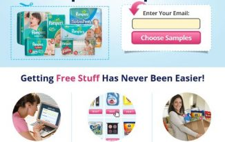 Get FREE Pampers Coupons (Limited Deal)