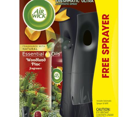 Save $3.00 off (1) Air Wick Freshmatic Starter Kit Printable Coupon