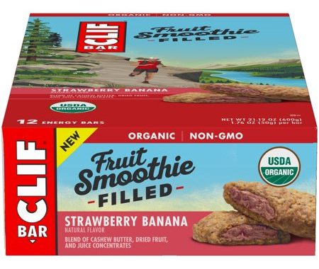 Save $1.50 off (1) Clif Fruit Smoothie Filled Energy Bar Coupon