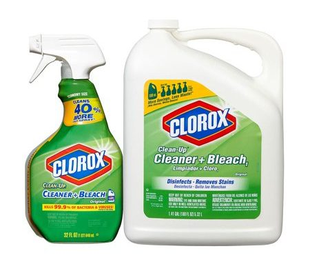 Save $1.00 off (2) Clorox Clean Up Bleach Printable Coupon