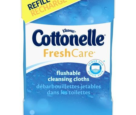 Save $0.50 off (1) Cottonelle Flushable Cleansing Cloths 2-Pack Coupon