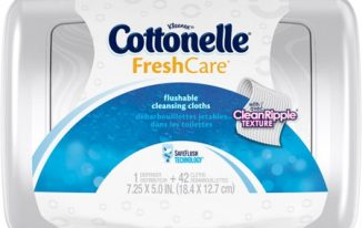 Save $0.75 off (1) Cottonelle Flushable Cleansing Cloth Coupon