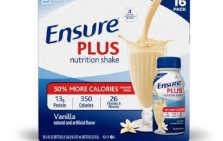 Save $5.00 off (1) Ensure Plus Nutrition Shake Coupon