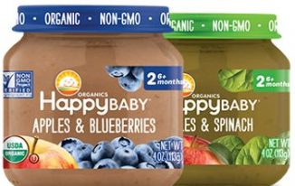 Save $1.00 off (3) Happy Baby Organics Jars Printable Coupon