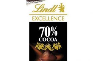 Save $0.75 off (1) Lindt Excellence Chocolate Bar Printable Coupon