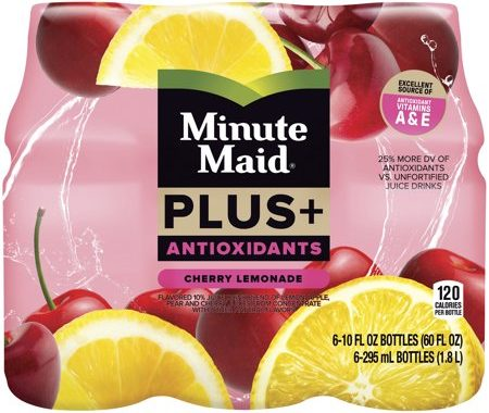 Save $0.55 off (1) Minute Maid Plus+ Antioxidants Coupon