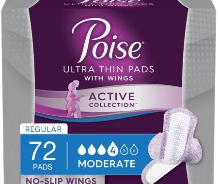 Save $3.00 off (1) Poise Active Collection Printable Coupon