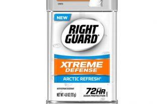 Save $3.00 off (2) Right Guard Xtreme Defense Printable Coupon