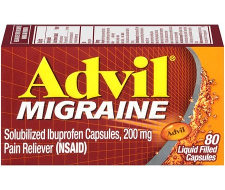 Save $2.00 off (1) Advil Migraine Pain Reliever Printable Coupon